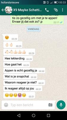 Flirten via whatsapp voor vrouwen